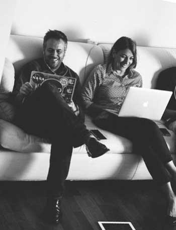 Laura Coppola e Massimo Carraro, fondatori di Coworking Cowo