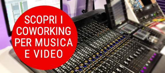contatto coworking per music and video makers